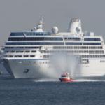 Oceania Nauticaが神戸港へ入港しました